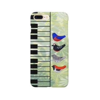 奄美の鳥のピアノ四重奏♪ Smartphone cases