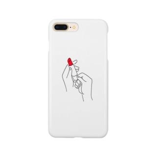 ルージュ Smartphone cases
