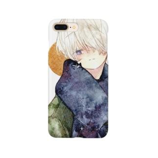 マフラーくんA Smartphone cases