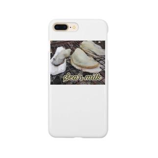 Sea's milk おいしいかき Smartphone cases