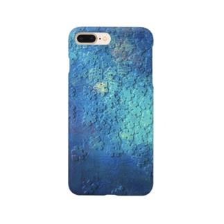 油絵「宇宙大河」 Smartphone cases