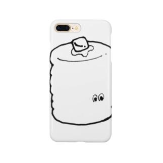 まっしろ834パンケーキ Smartphone cases