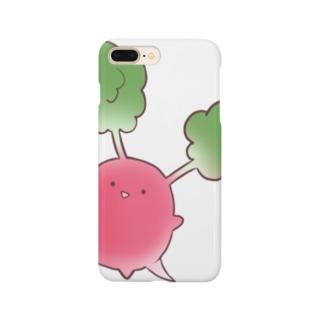 根菜類(ラディッシュ) Smartphone cases