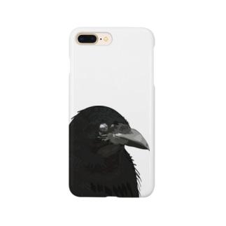 カラスの目  Smartphone cases
