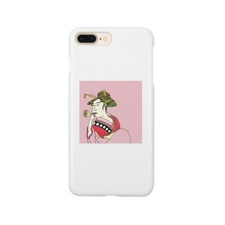 Mrs. Earth 『おピンはん』 Smartphone cases