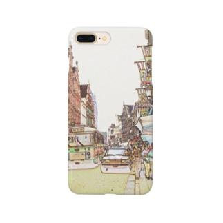 CG絵画:ブリュージュの風景 CG art: Bruges Smartphone cases