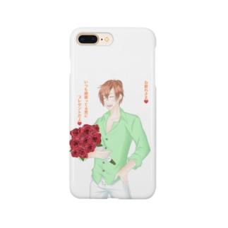 言の葉 薔薇 Smartphone cases