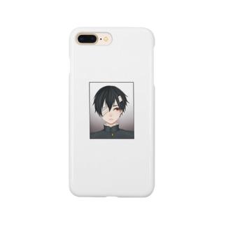 学ラン男の子 Smartphone cases