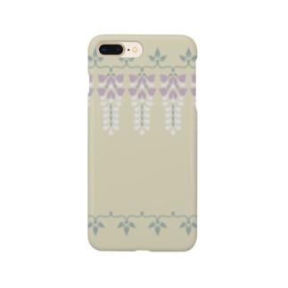 d*ropsのwisteria Smartphone cases