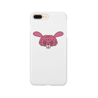 脳みそウサギ Smartphone cases