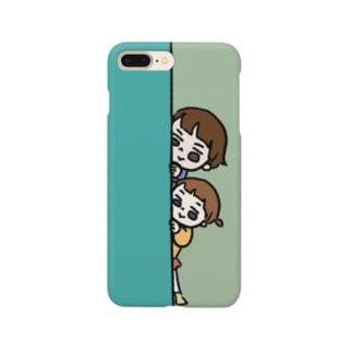 ちらっ Smartphone cases
