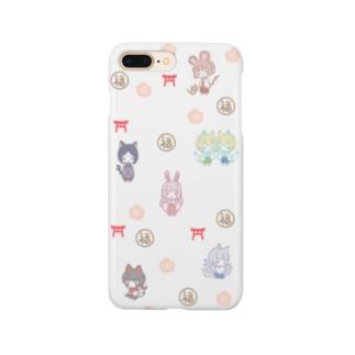 かみさま柄 Smartphone cases