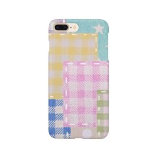ミルキーパッチワーク風♡ Smartphone cases