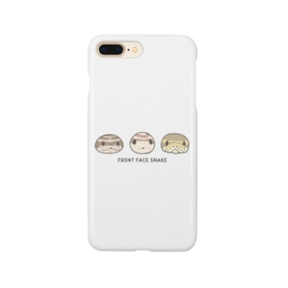 Front face snake Smartphone cases