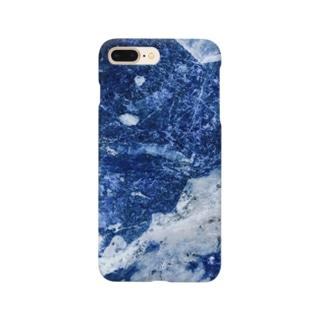 海色の結晶石 Smartphone cases