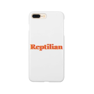 Reptilian ヒト型爬虫類 グッズ Smartphone cases