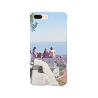 ポルトガル:リシュボアの風景写真 Portugal: Castelo de São Jorge / Lisboa ( Lisbon ) Smartphone cases