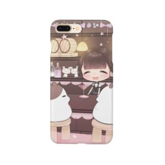 耳かきラジオ5スマホケース Smartphone cases