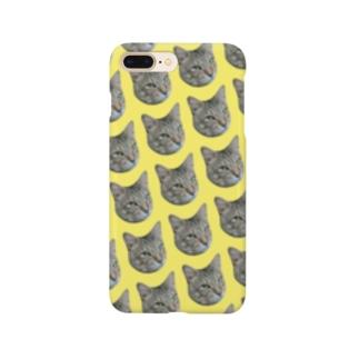 猫のタイガくん Smartphone cases