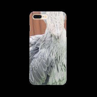 alpha8110のハシビロコウさん Smartphone cases