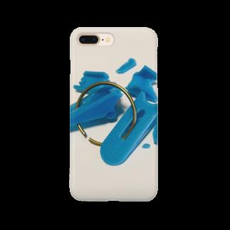 がつの壊した洗濯バサミ Smartphone cases