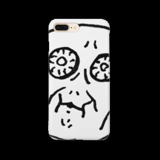 のるまのキモちゃん Smartphone cases