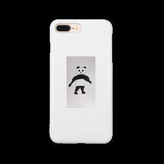 Yukifukiのこれてもパンダくん Smartphone cases