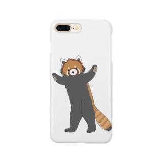 レッサーパンダくん Smartphone cases