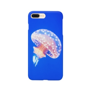 ぽつねんクラゲ Smartphone cases