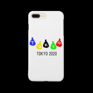 momogonのTOKYO2020ギフト Smartphone cases