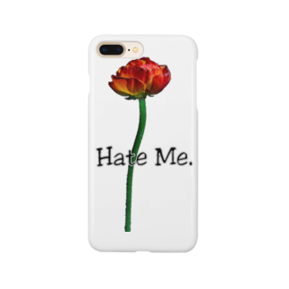 Lil'Tyler's Clothing.の「Hate Me FLOWER」 Smartphone cases