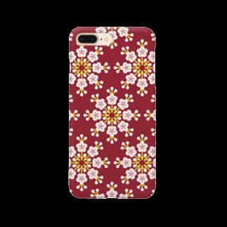 d*ropsのplum Smartphone cases