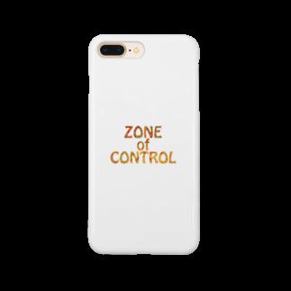 BE UPWARDのZONE OF CONTROL Smartphone cases