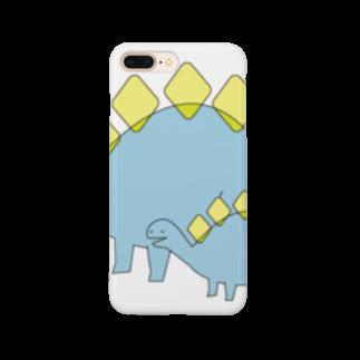 sakilonnのこんちは恐竜 Smartphone cases
