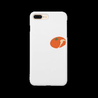 筆文字ショップのみかん Smartphone cases