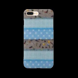 rioshiの3月 アクアマリン Smartphone cases