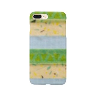 8月 ペリドット Smartphone cases