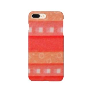 1月 ガーネット Smartphone cases