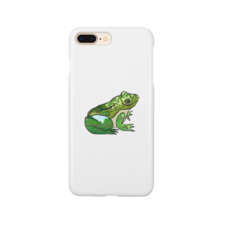 creat_tonakaiのフロッグ Smartphone cases