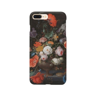 Still life with flowers and a watch Smartphone cases