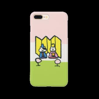 n_shhhinのひなまつりにーの Smartphone cases