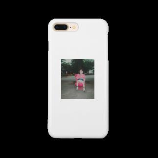 SHOP_KAGENEKOのカゲネコ-幼少- Smartphone cases