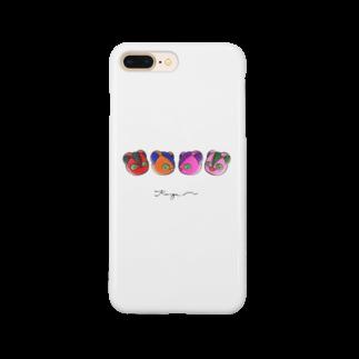 KingaMの手描き風KingaM(カラー) Smartphone cases