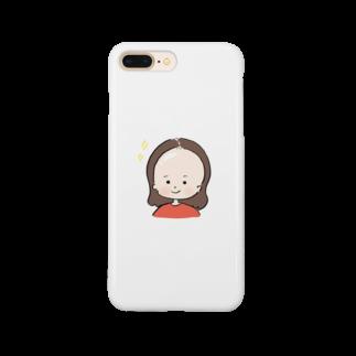 おで子、前を向け!/おで子ヒカル👨🏻🦲のおでこヒカルちゃん ピカピカモード Smartphone cases