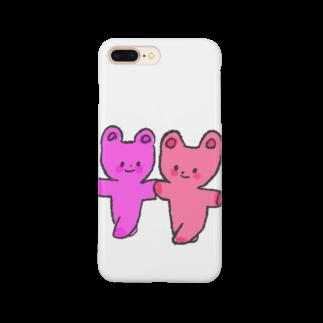 のばたろのラブラブカップルちゃん Smartphone cases