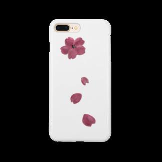 ル.ボヌールの桜舞う Smartphone cases