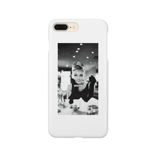 Xoxoのxoxo オードリーヘップバーンver Smartphone cases