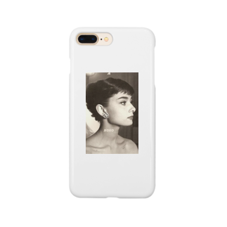 Xoxoのxoxoオードリーヘップバーンver Smartphone cases