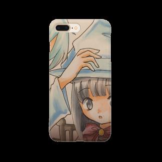 asahiyoruaの先生と魔女 Smartphone cases