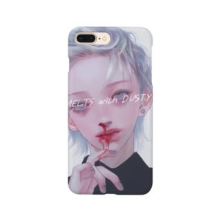 鼻血くん~ Smartphone cases